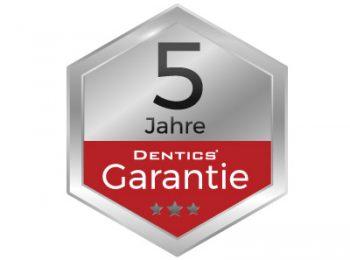 5 Jahre Dentics Garantie